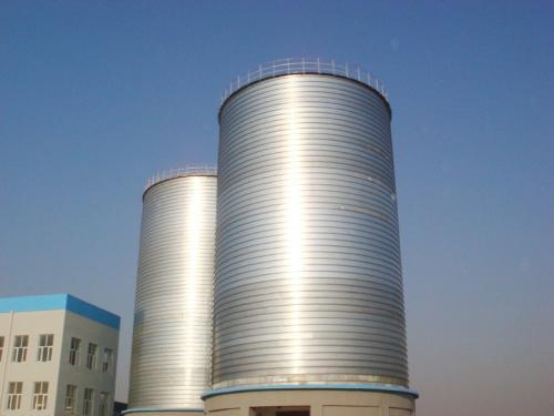 搅拌站水泥仓厂家 福莱尔钢板仓提供品牌好的搅拌站钢板仓