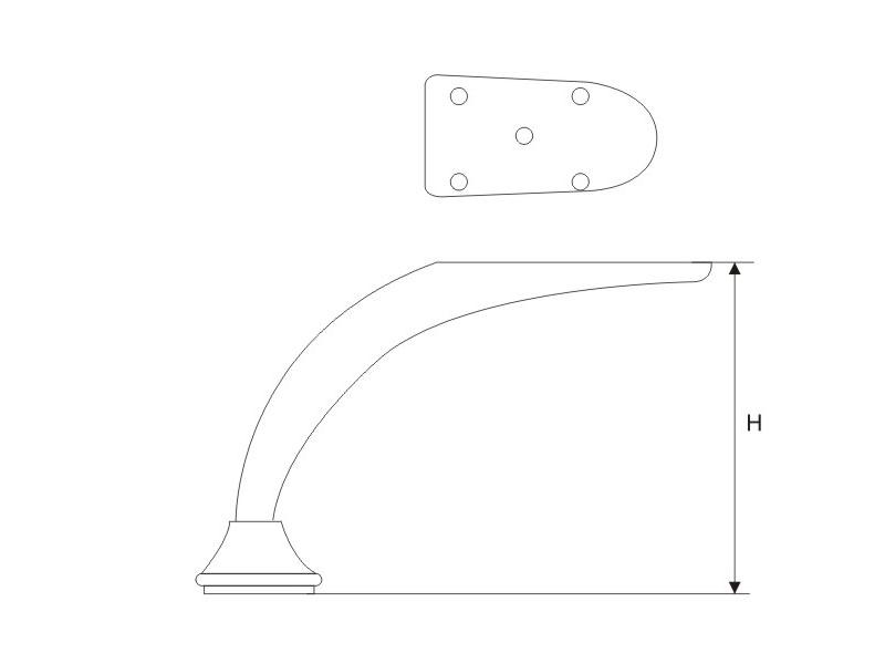 固定家具脚制造公司-供应直销性价比高的固定家具脚