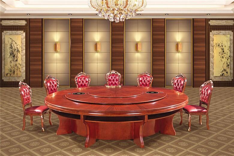 青海酒店實木餐桌