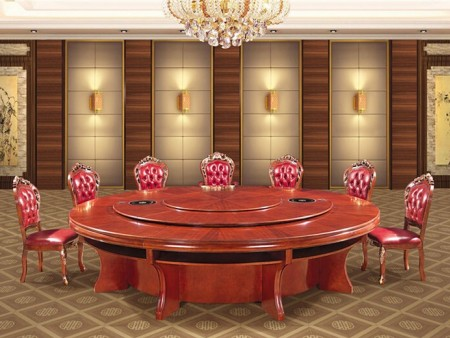 青海酒店实木餐桌