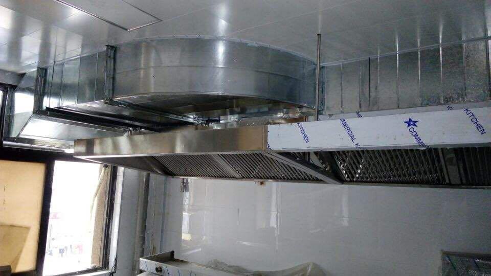 厨房排烟罩制作_沈阳铭汇供应好用的不锈钢排烟罩