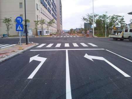 哈尔滨标线工程:交通标线工程划线知多少?