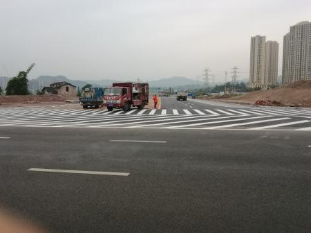 道路划线施工公司-可信赖的道路划线推荐