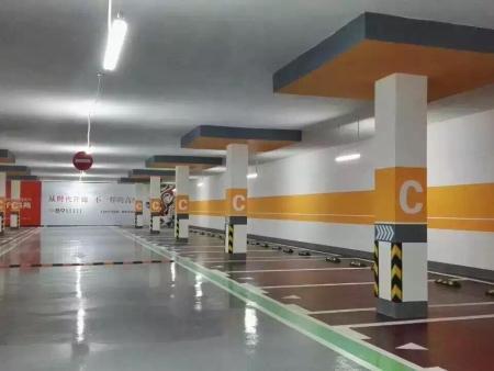 哈尔滨停车位:地下停车场车位划线的标准