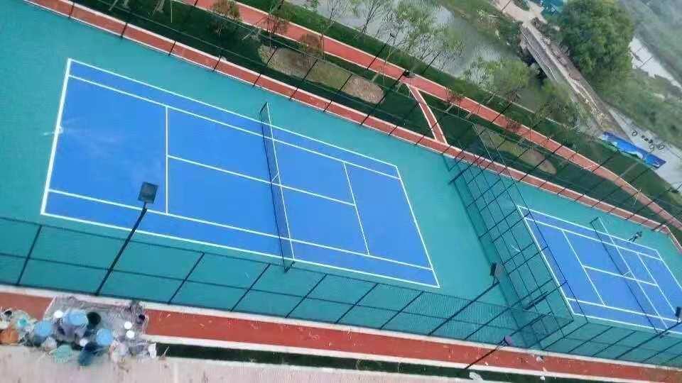 宁波网球球场-室外网球场-专业塑胶网球场