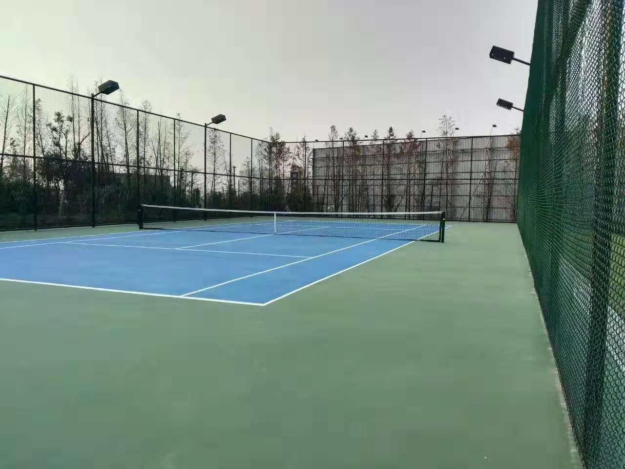 网球场专业材料-华速新材料具有口碑的室外网球场出售
