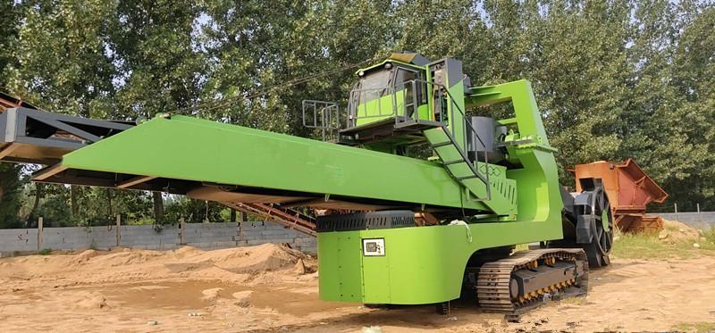 桥式斗轮取料机生产厂家|物超所值的履带式斗轮取料机欧骏宝矿山机械供应