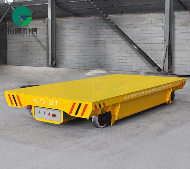 工厂搬运过跨工具车 拓普利德低压供电轨道电动平车