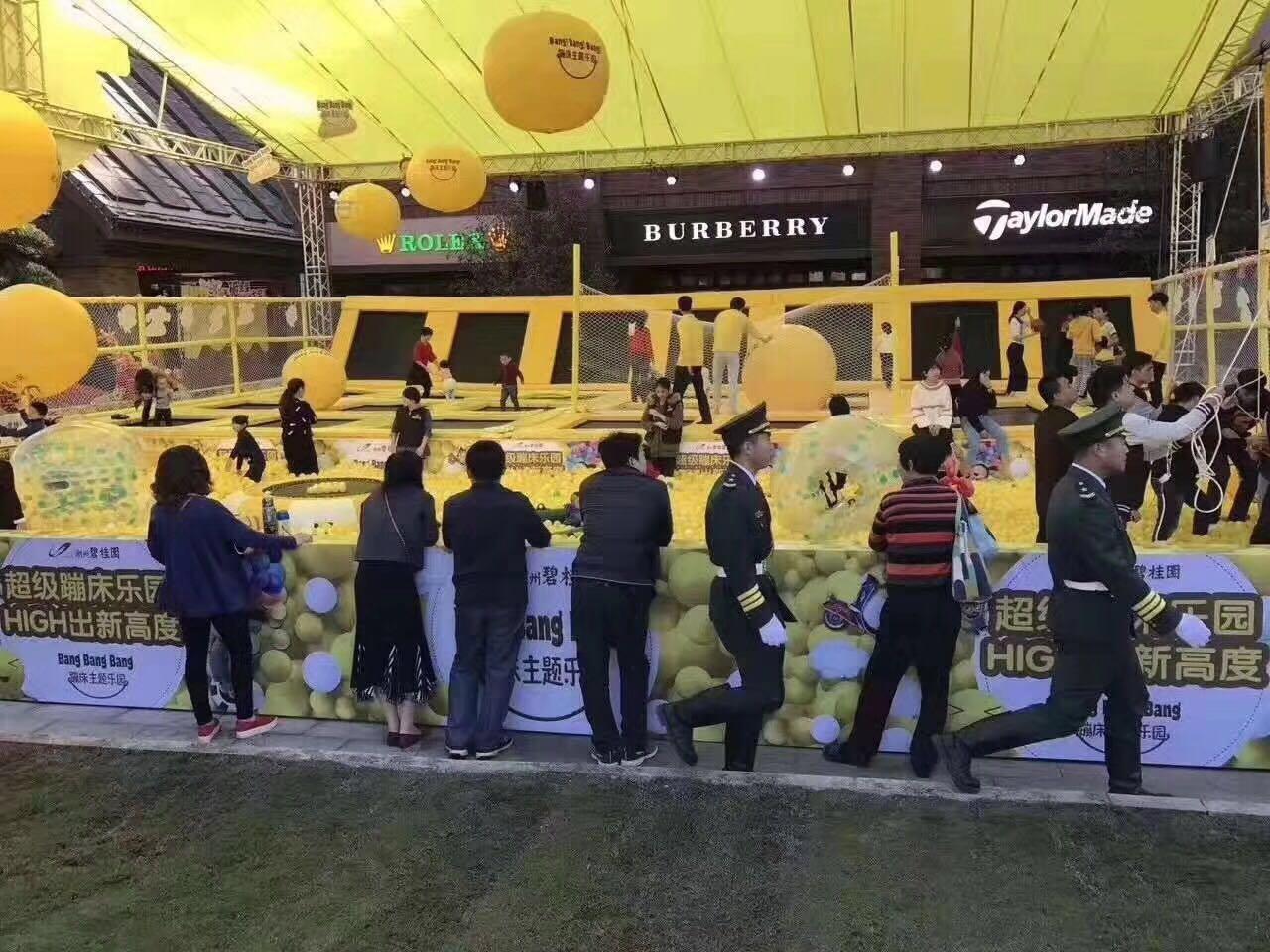 六一儿童项目超级大蹦床出租出售