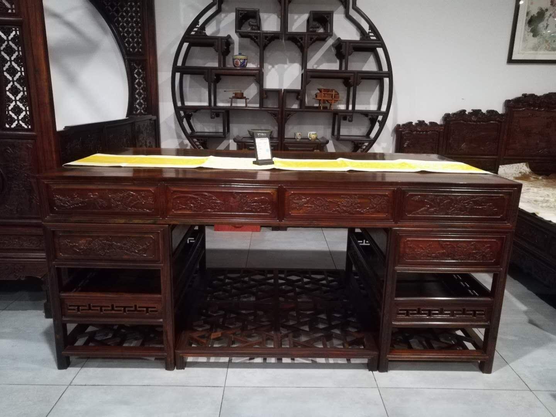 济南红木写字台哪家好