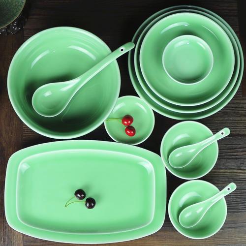 龍泉青瓷餐具哪家好,有品質的私人訂制青瓷餐具廠家