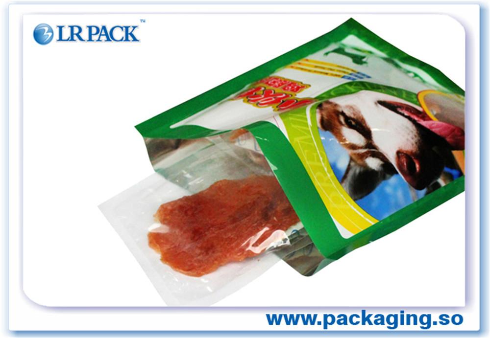 广州印刷复合食品立体袋自立狗粮包装袋