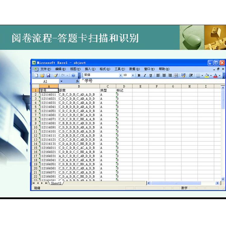 武汉网上阅卷系统,自动阅卷软件,电脑阅卷软件