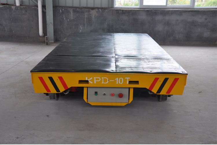 四輪過跨工具車 河南廠家定制低壓軌道電動平車
