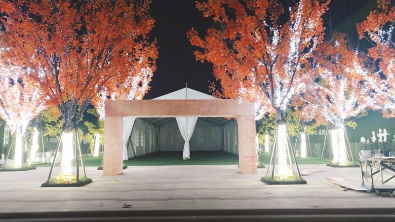 郑州婚庆篷房_可靠的婚庆篷房搭建厂家