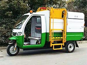 翻桶垃圾车上哪买比较好,内蒙古电动环卫车翻桶垃圾车清运车