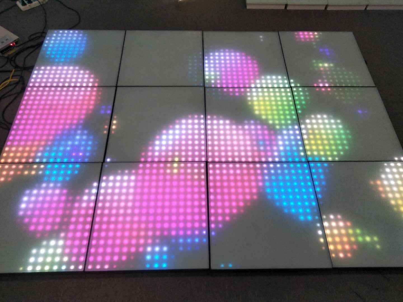 225点像素地砖灯可编辑图像文字动画视频的地砖灯