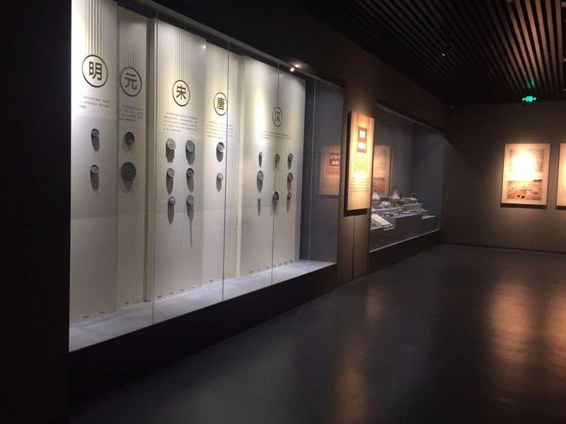 文化馆展柜