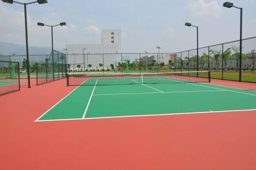 湖南丙烯酸网球场翻新_质量好的丙烯酸球场尽在泓冠达体育设施