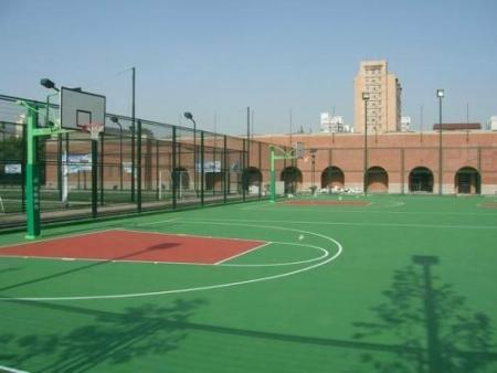 为您推荐泓冠达体育设施性价比高的硅PU球场-广州塑胶篮球场施工