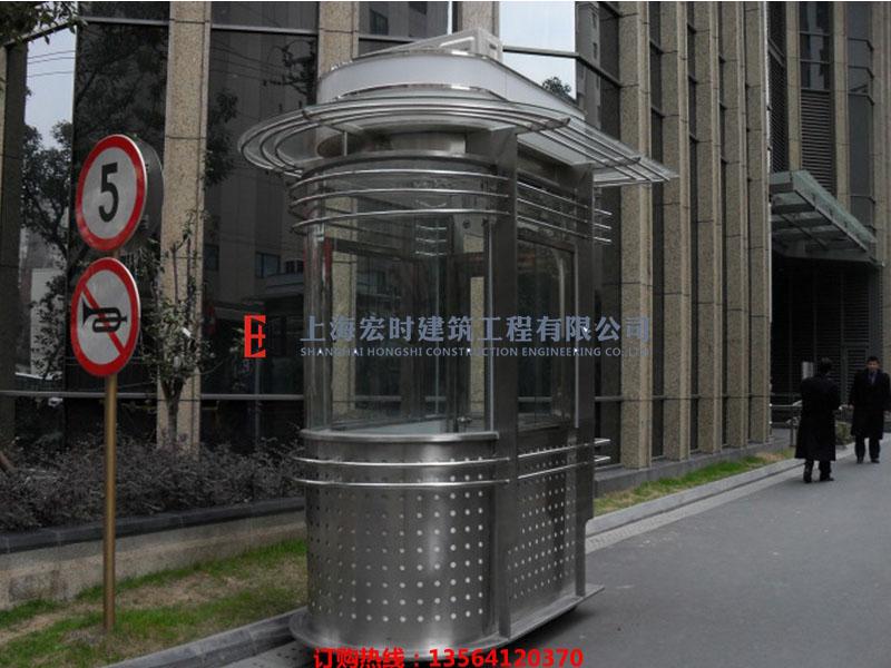 岗亭厂家_上海宏时建筑工程实惠的不锈钢岗亭供应