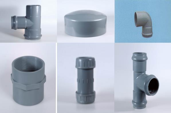 宁夏供排水材料-金昌超好用的兰州PVC管出售