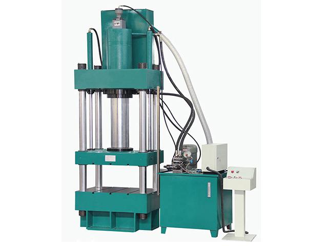 龙门液压机厂家直销 普洱茶饼压制成型机 50吨双柱油压机