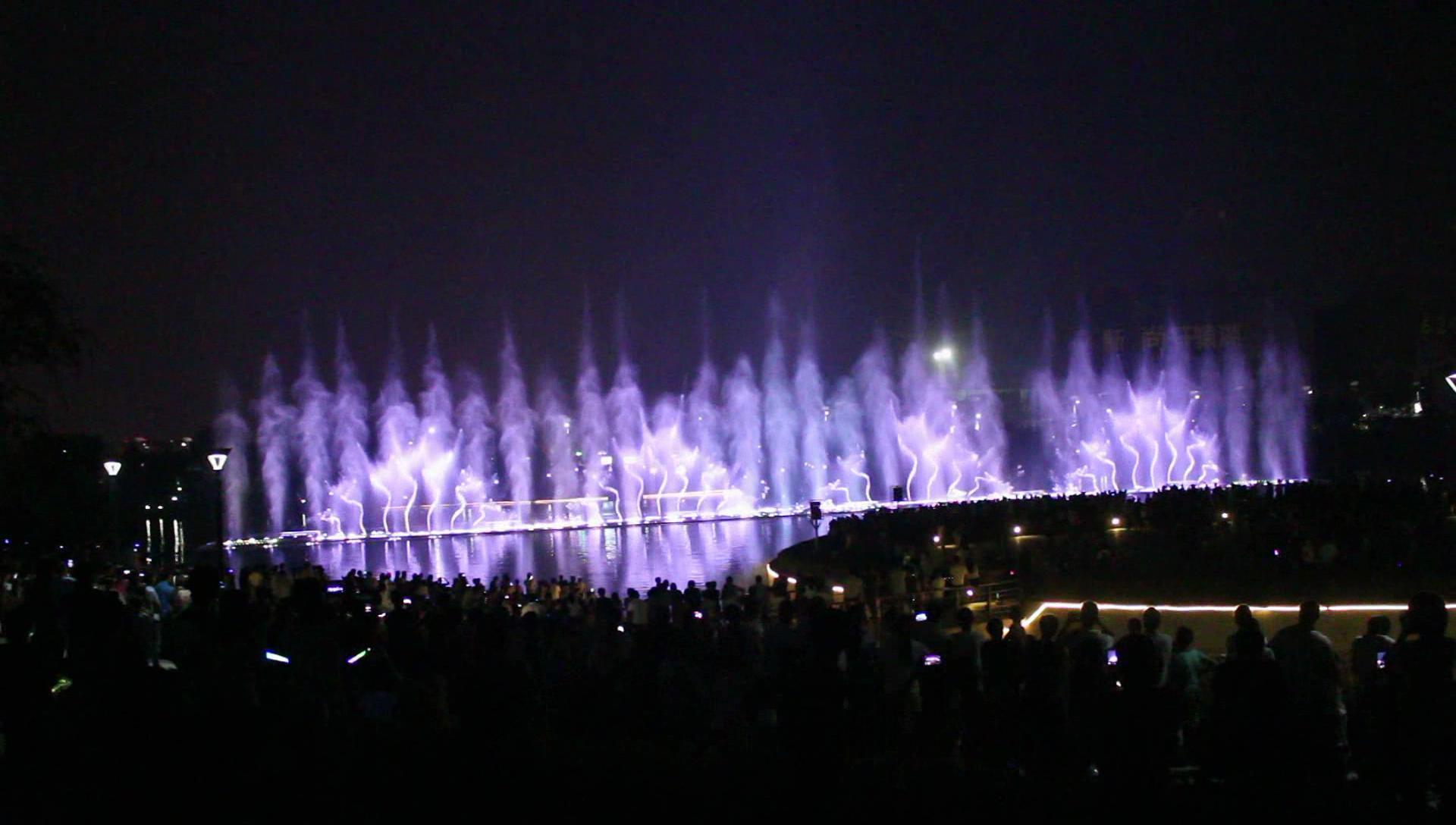 哈尔滨漂浮喷泉|哈尔滨玻光泉