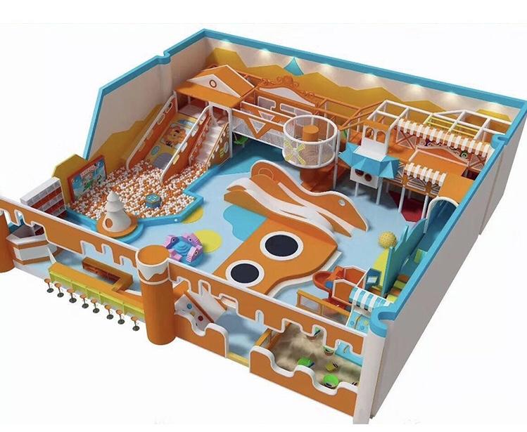 儿童淘气堡-有信誉度的淘气堡厂家就是智杰游乐