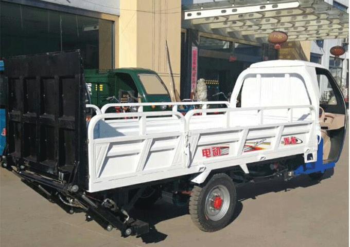 内蒙古垃圾运桶车-专业电动三轮运桶车推荐