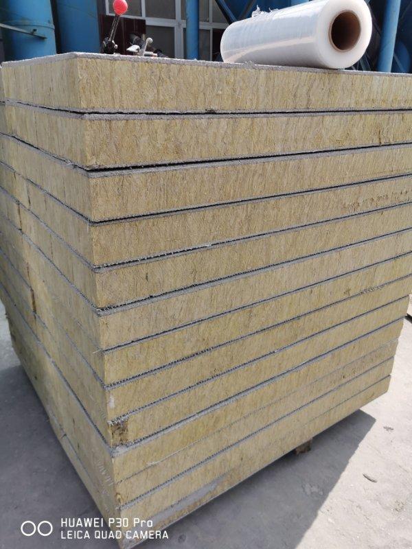 玄武棉岩棉保温板幕墙干挂岩棉板材 出售廊坊耐用的岩棉复合板