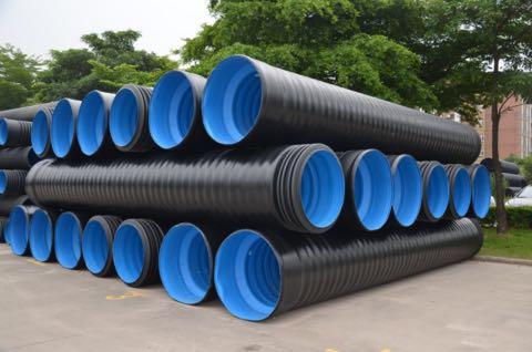 HDPE三层壁复合增强管