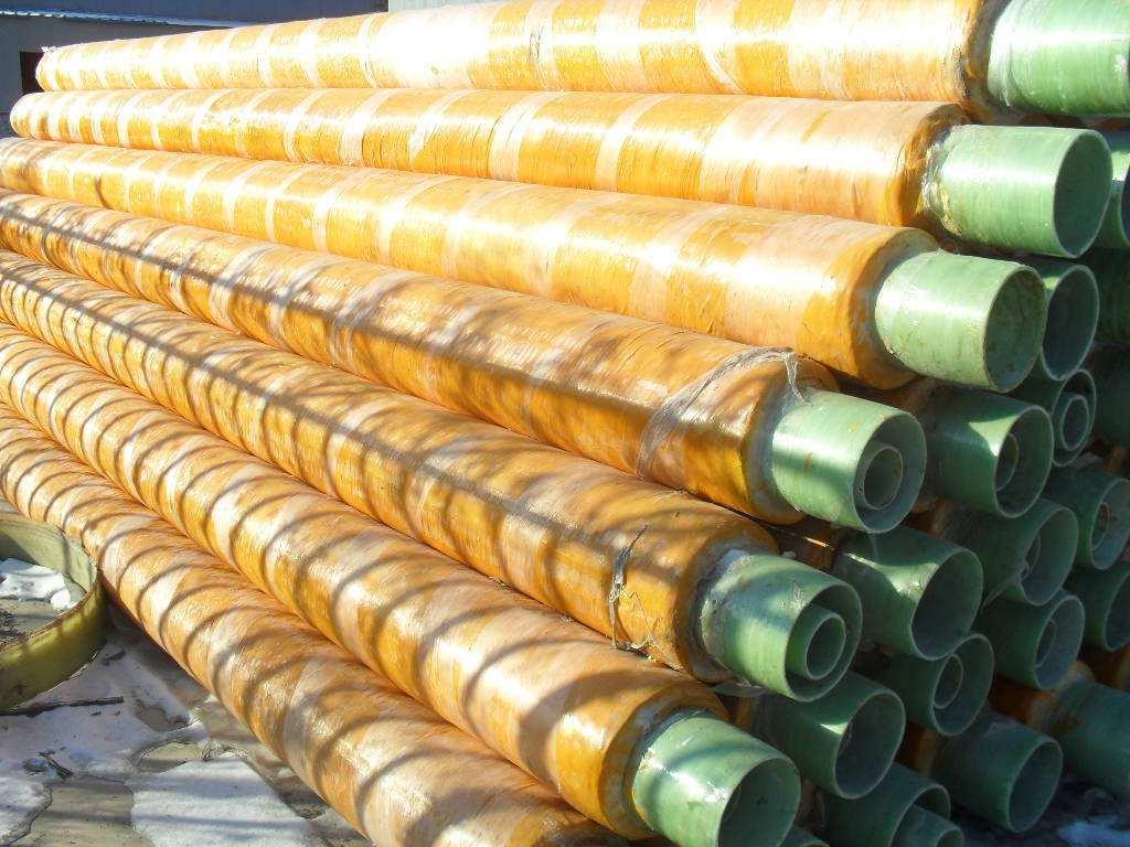 玻璃钢外护层缠绕聚氨酯保温防腐钢管厂家价格