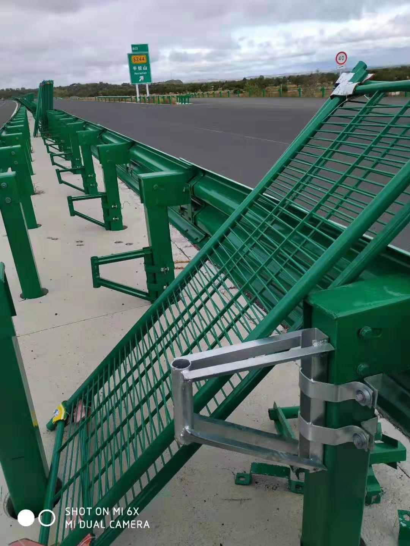 玻璃高速钢防眩网A道路防眩网质量好信得过厂家