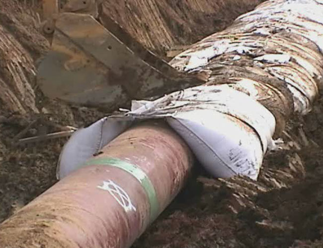 廊坊地区实惠的管道平衡压袋   -平衡压袋生产厂家