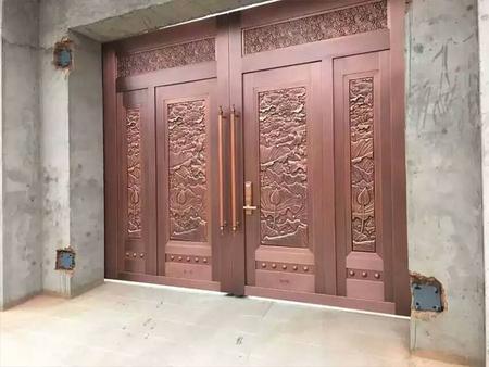 宁夏铜门-供应宁夏质量好的宁夏家庭铜门