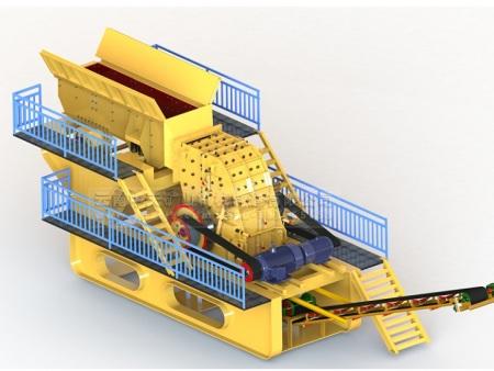 云南好用的破碎机-供应云南节能型新款二合一重锤式破碎机质量保证
