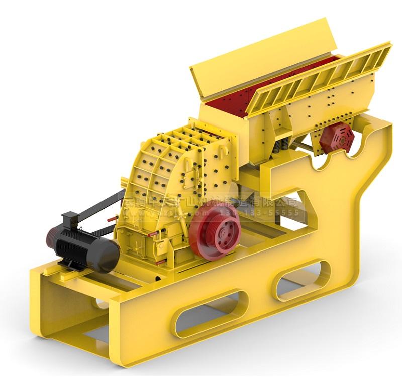 云南专业的破碎机-昆明好用的节能型新款二合一重锤式破碎机哪里买