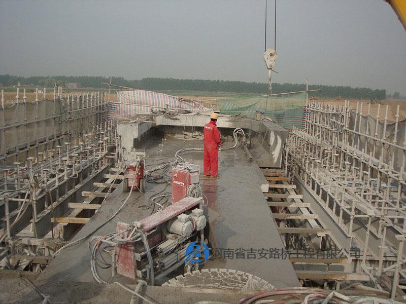 河南桥梁加固施工方案