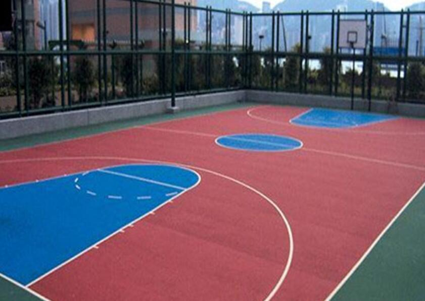丙烯酸篮球场造价,广西篮球场施工厂家