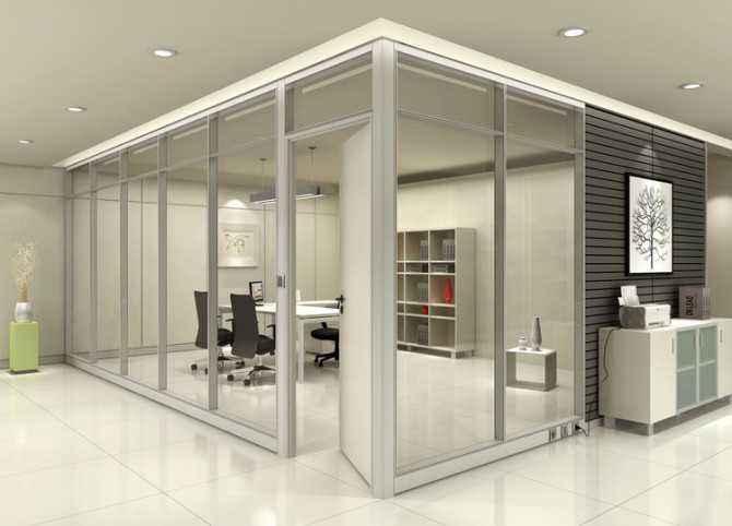 平度玻璃隔断 胶州磨砂玻璃隔断费用 青岛玻璃隔断厂家电话