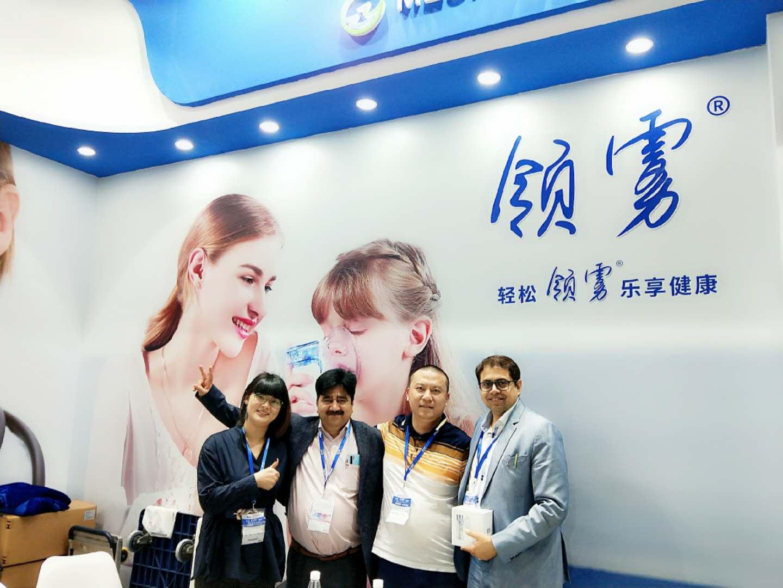 2019上海醫療器械博覽會,正元領霧霧化器取得圓滿成功