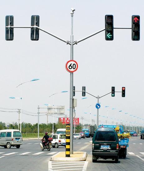 沈阳交通信号灯杆哪家好?多年制作经验-沈阳海辉!