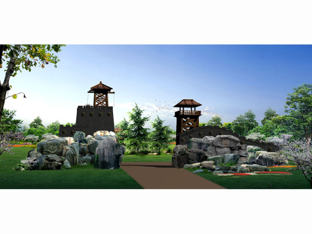 甘肅園林景觀工程公司-甘肅可靠的甘肅園林景觀設計工程