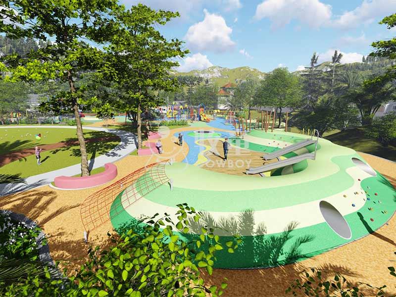 户外游乐拓展设备,户外儿童乐园整体设计