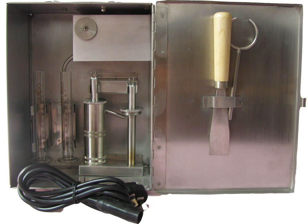 新疆油水固相含量测定仪厂家 价位合理的砂含量测定仪青岛百瑞达供应