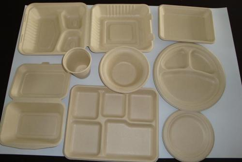 三润田批发一次性纸浆餐具|纸浆包装制品