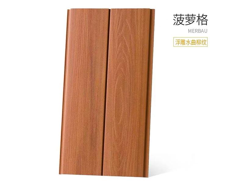 天津阴角线直销 临沂维卡森生态木双75浮雕板您的品质之选