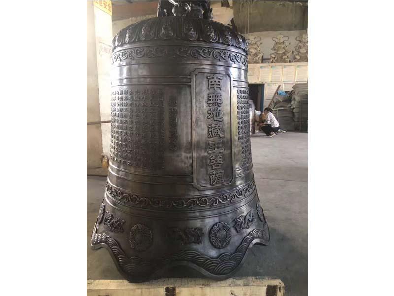 上饒寺廟銅鐘 出售浙江熱賣銅鐘