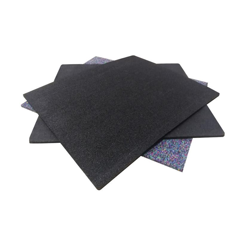 宝来声学聚氨酯改性橡胶颗粒隔声垫